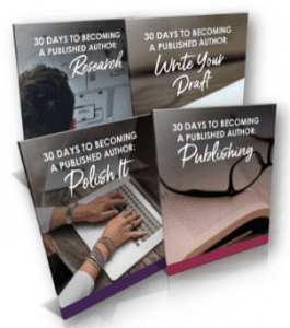 Become a Published author in 30 days or less