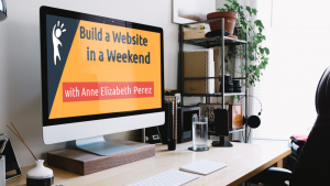build a website in a weekend