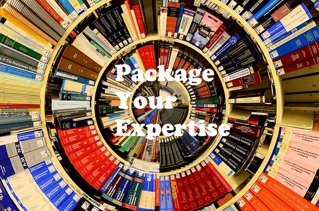 package your expertise into an online programme