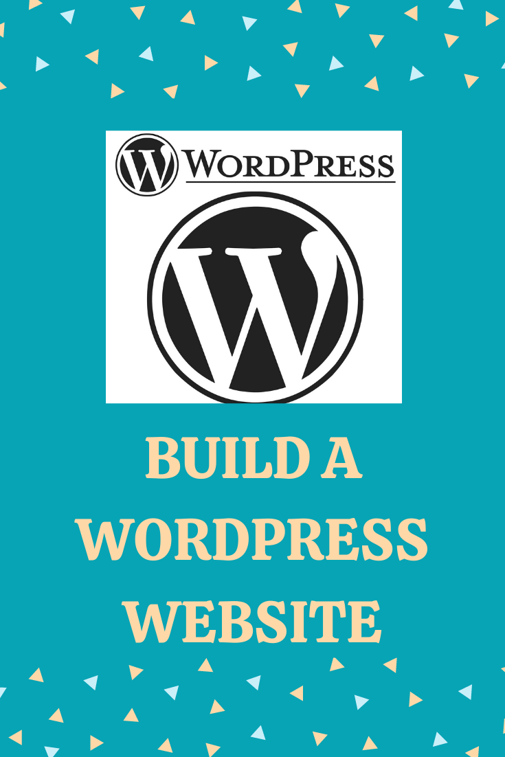 build a wordpress website